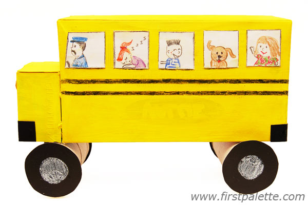 Shoebox School Bus