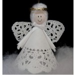 Image of Window Cling Angel
