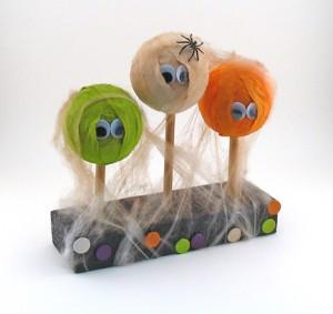 Spooky Halloween Heads