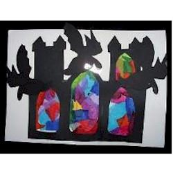 Stained Glass Gargoyles