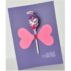 Image of Sweetest Friend Lollipop Card