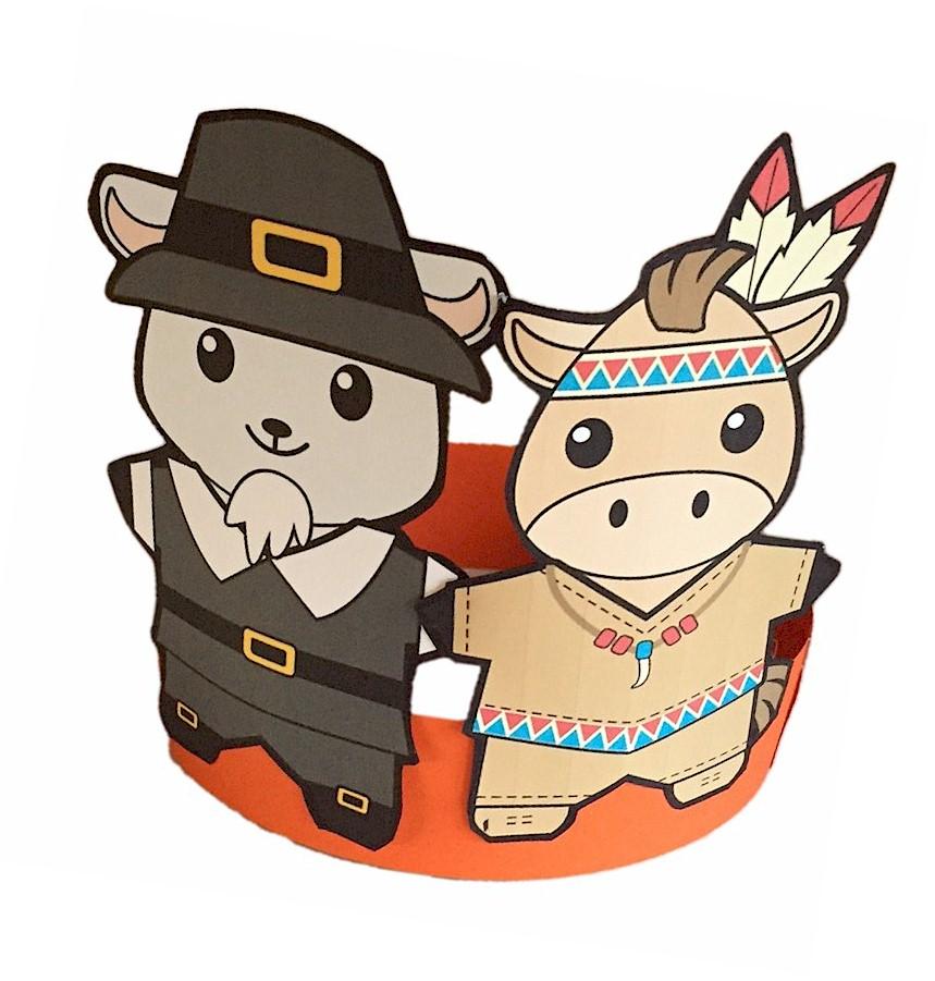 Image of Buddies Thanksgiving Hat