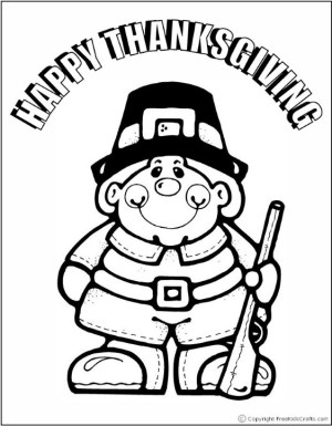 Image of Thanksgiving Coloring Pages