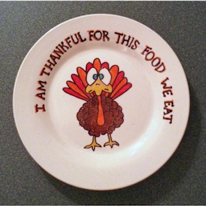 Make A Thanksgiving Dinner Plate