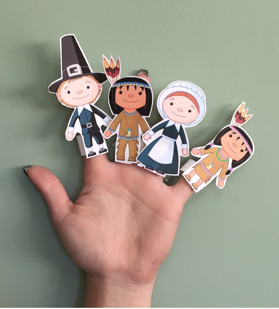 Image of Thanksgiving Finger Puppets
