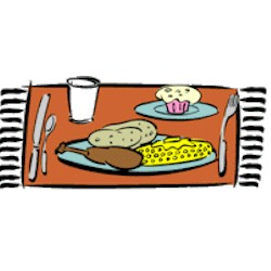 What's For Dinner Placemat