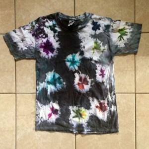 Image of Fireworks Tie Dye Tee Shirt