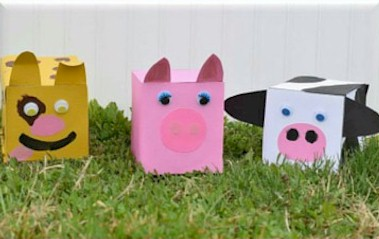 Farm Animal Tissue Boxes