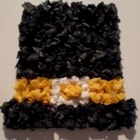 Tissue Paper Pilgrim Hat