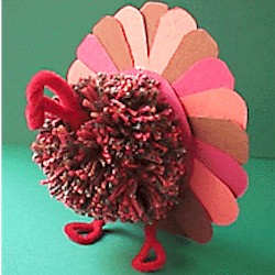 Image of Tri Color Turkey Centerpiece