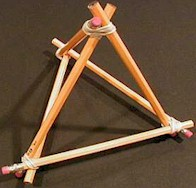 Image of Easy to Make Triangle Stand