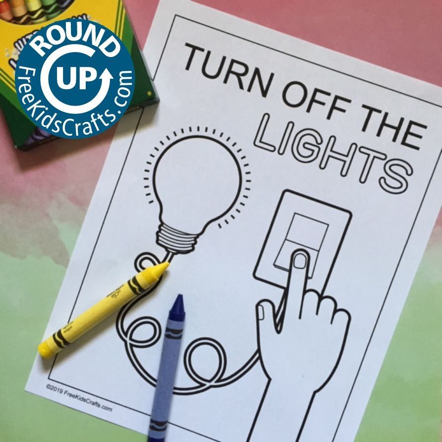 Image of Turn It Off Helper (Crafts and Activities)