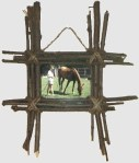 Image of Flowered Frame