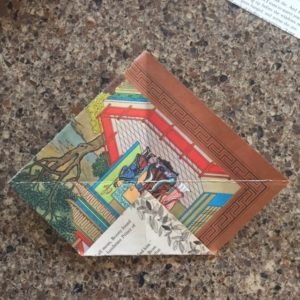 Image of Upcycled Decorative Envelopes