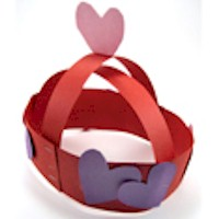 Valentine Crown of Hearts