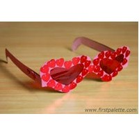 Fun Valentine Glasses