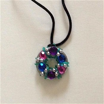 Blingy Washer Necklace