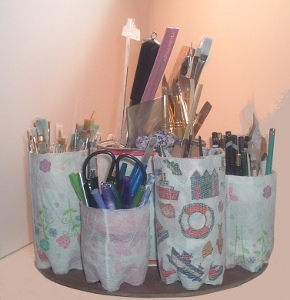 Recycled Bottle Organizer