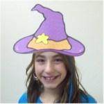 Image of Halloween Pumpkin Hat Craft