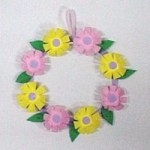 Image of Clothespin Easter Wreath