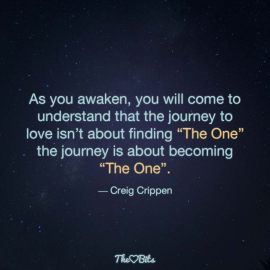 """Finding """"The One"""""""