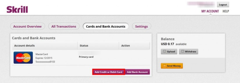 How to Add Money From Payoneer to Skrill