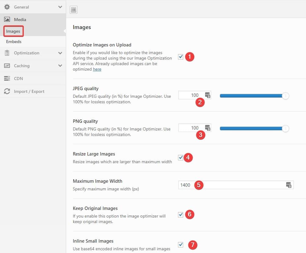 Swift Performance plugin default settings - Freelancers tools 05