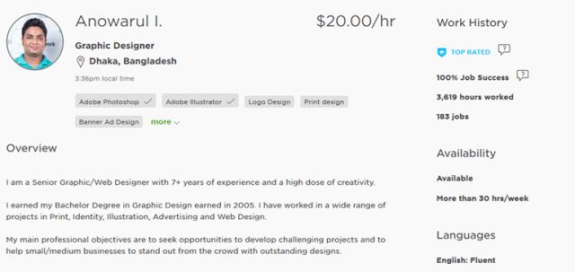 freelancer-profile