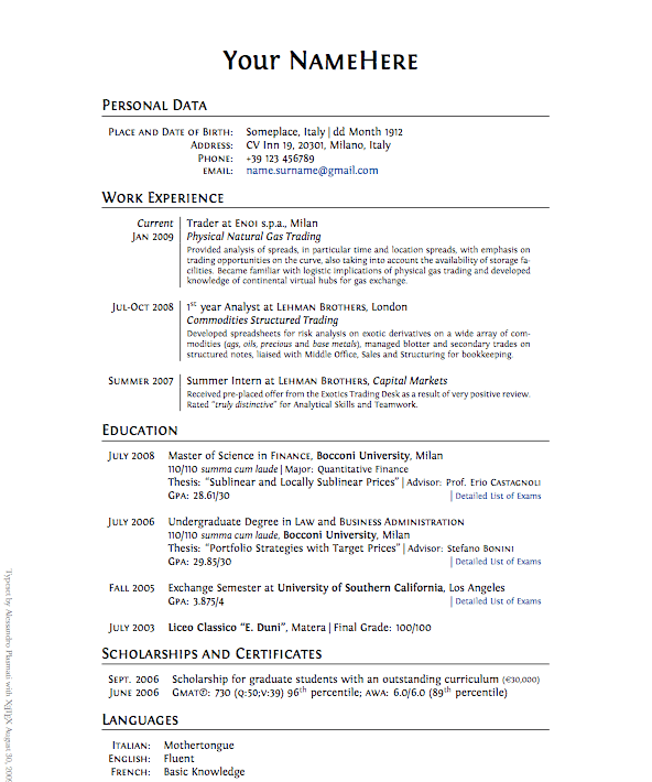 how to do a good resume examples and get ideas how to create a
