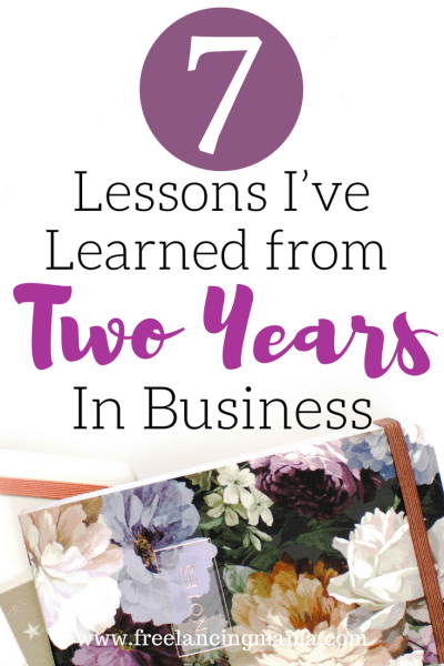 Lessons I've Learned from Two Years in Business