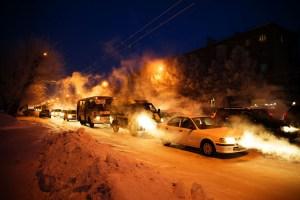 Mikhail Koninin_Evening traffic (Novosibirsk, Siberia)