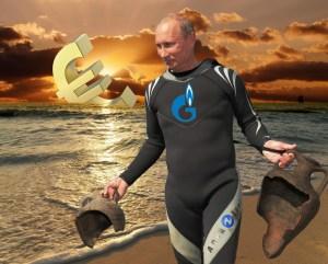 Euro Sunset on Cyprus with Vladimir Putin, foto: Tjebe Van Tijen
