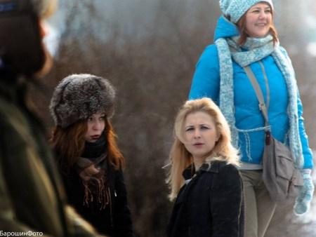 S Mášou Alechinovou (Pussy Riot), foto: Alexandr Babošin