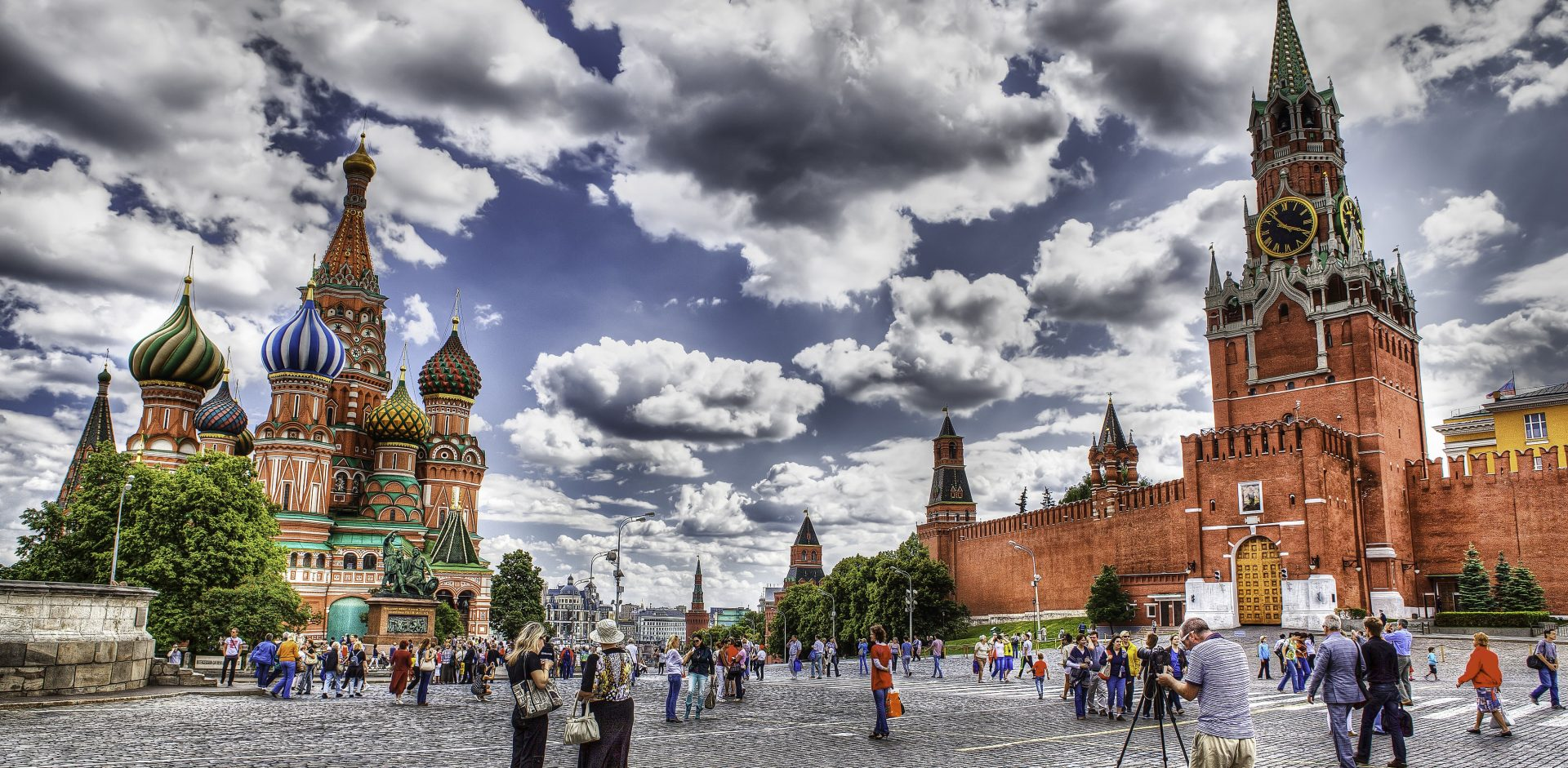 Red square Moscow city scape by ValeriJ Tkačenko/Creative Comonns 2.0