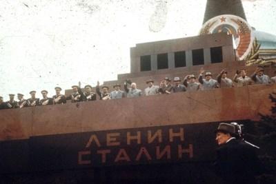 Stalinovo tělo je stále v mauzoleu, 1959 Foto: pastvu.com/p/219581