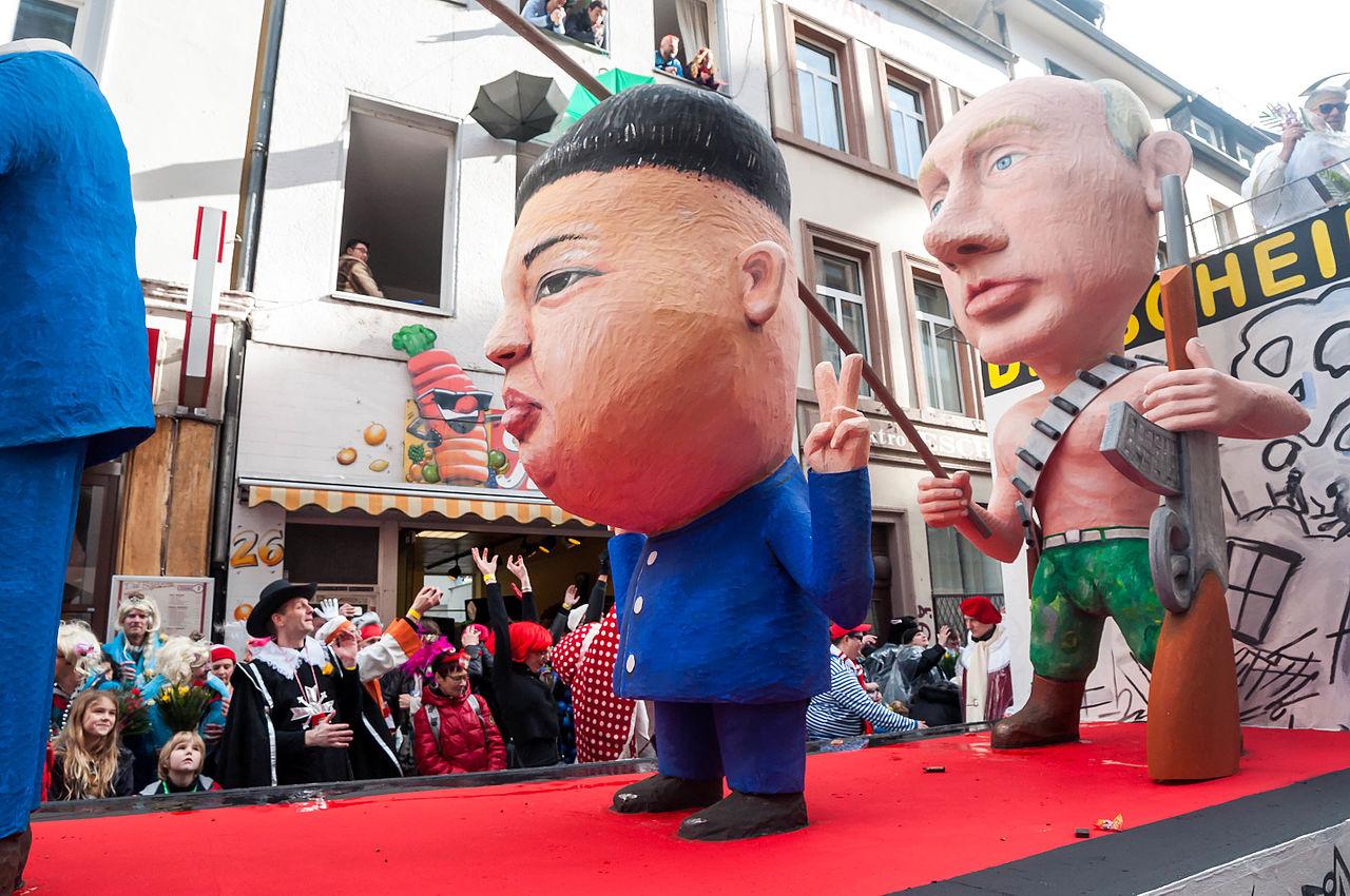 Kim Čong-un a Putin
