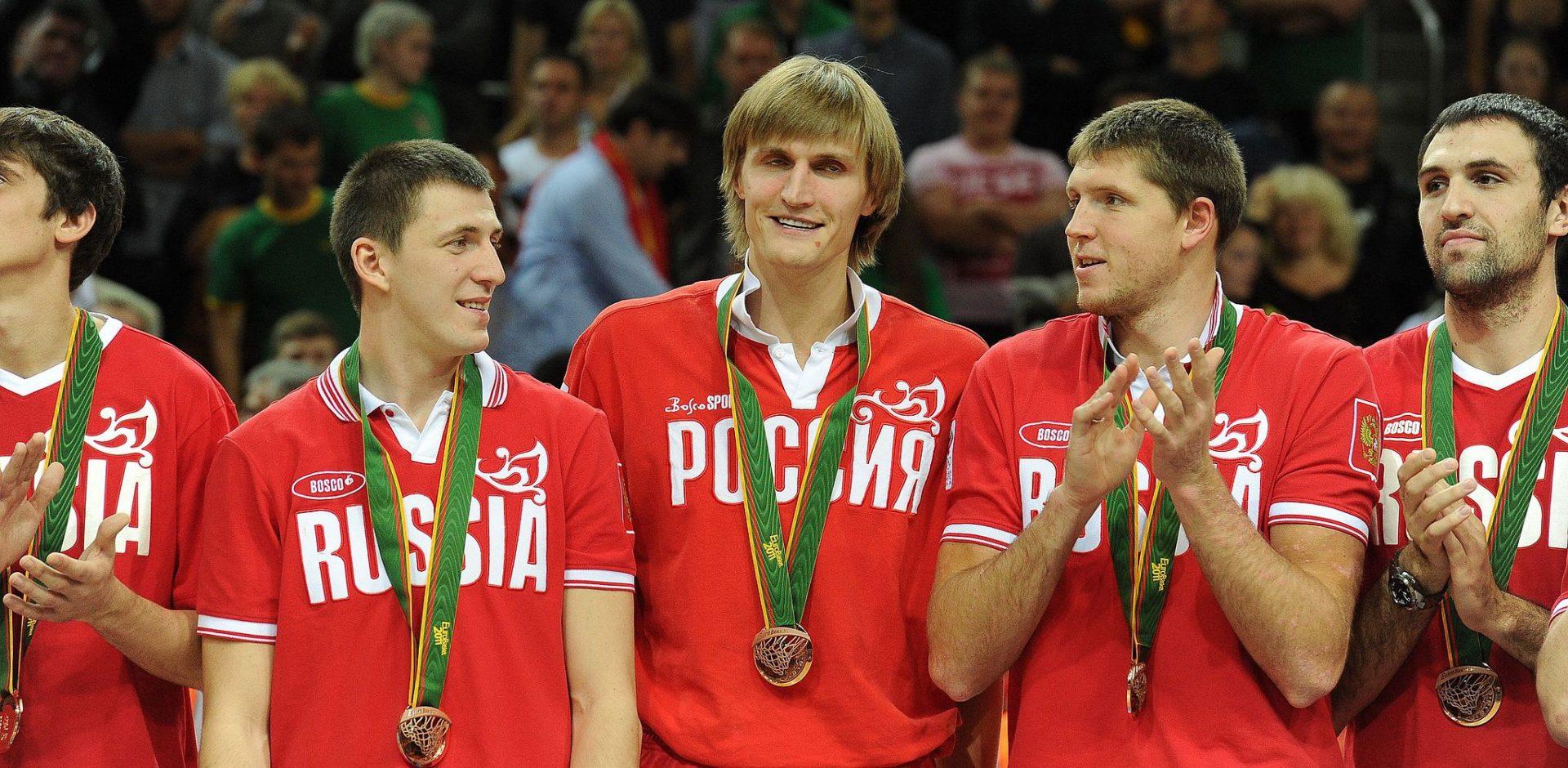 Ruský národní basketbalový tým, Eurobasket 2011 / Christopher Johnson via Wikimedia Commons