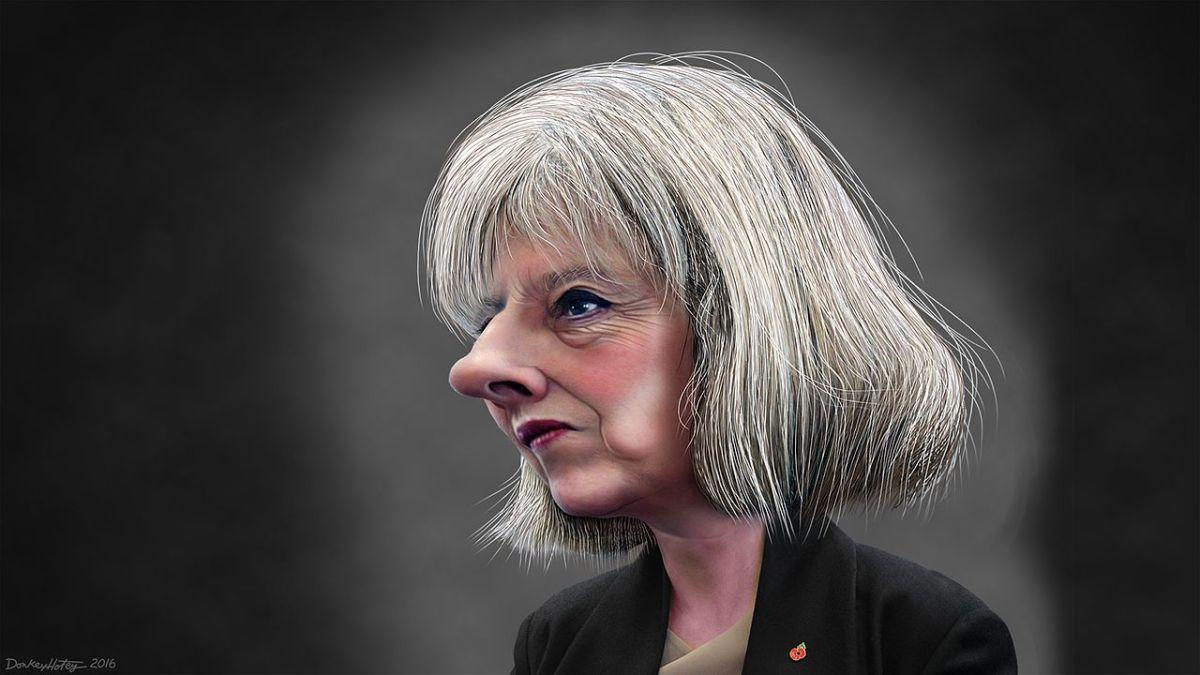 Theresa Mayová má teď důležitý úkol: říct Trumpovi pravdu o Putinovi