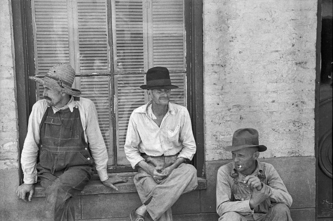 Frank Tengle, Bud Fields, and Floyd Burroughs, Walker Evans