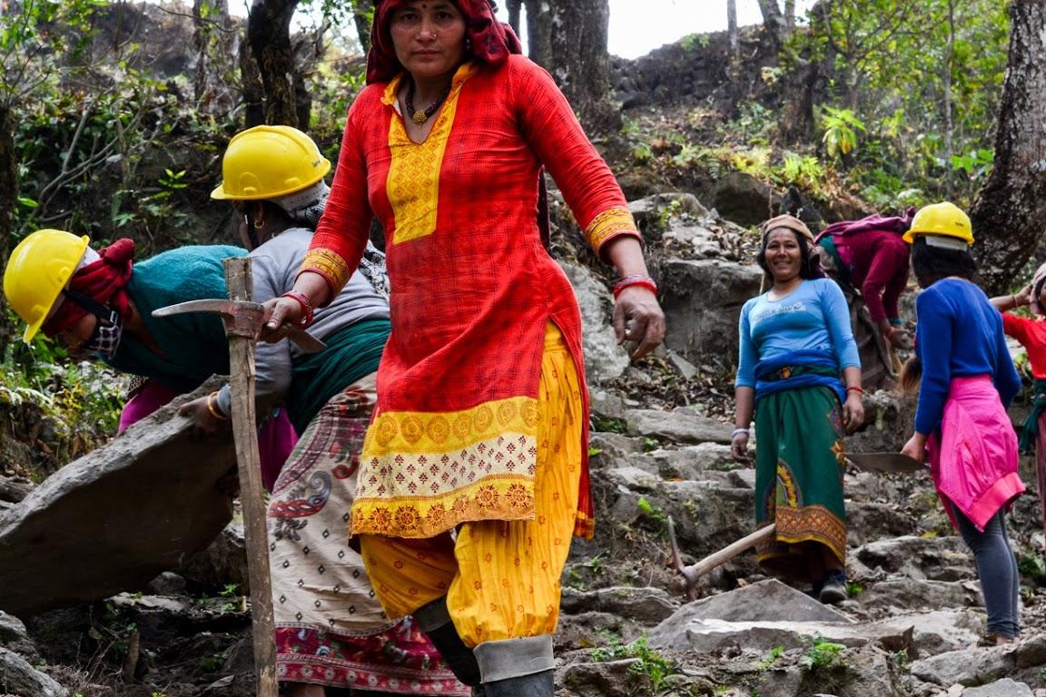 Člověk v tísni pomáhá v Nepálu
