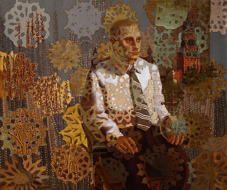 Портрет Владимира Путина, Алексей Акиндинов