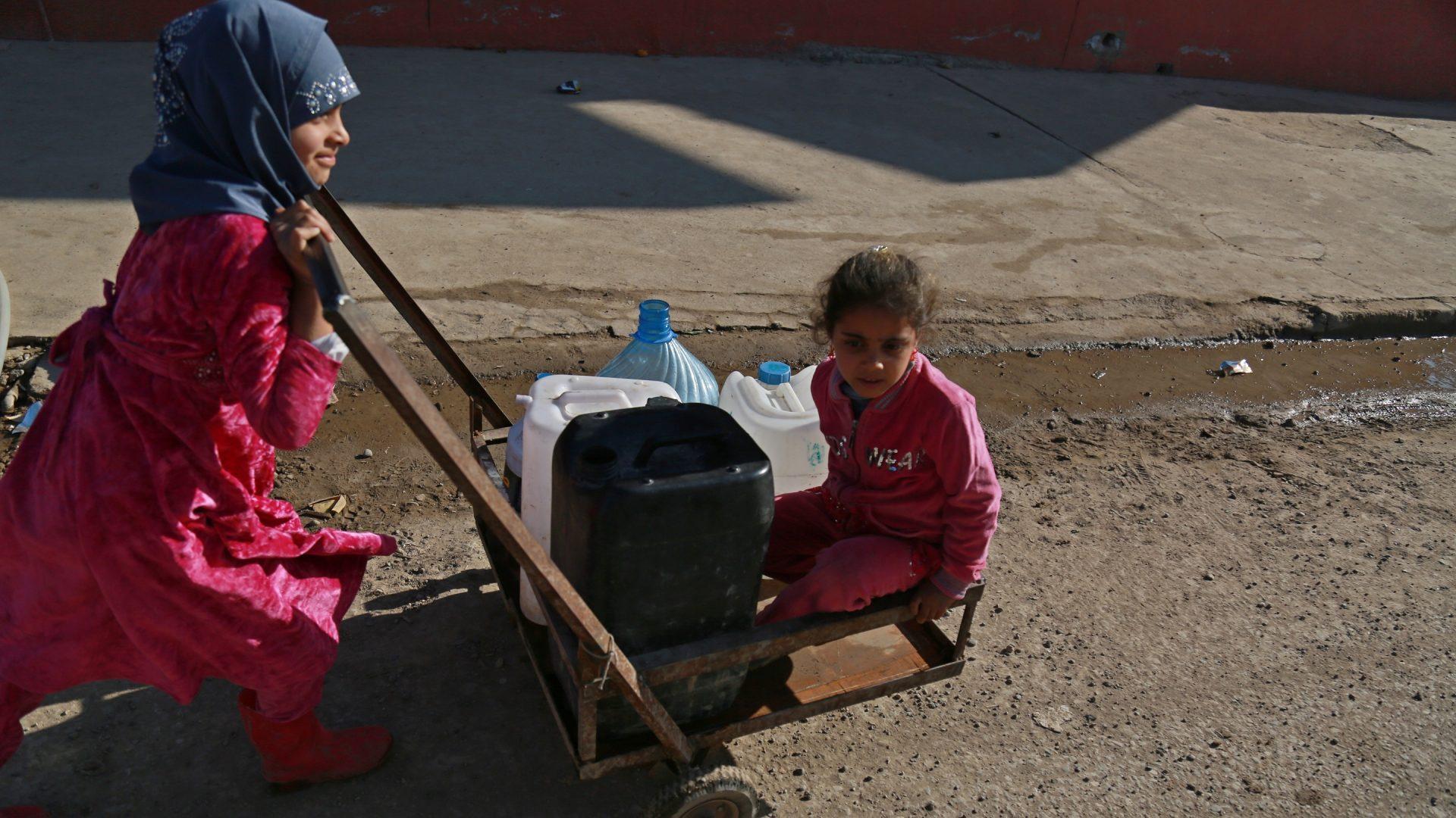 Irak, East Mosul 2017, foto Michal Przedlacki