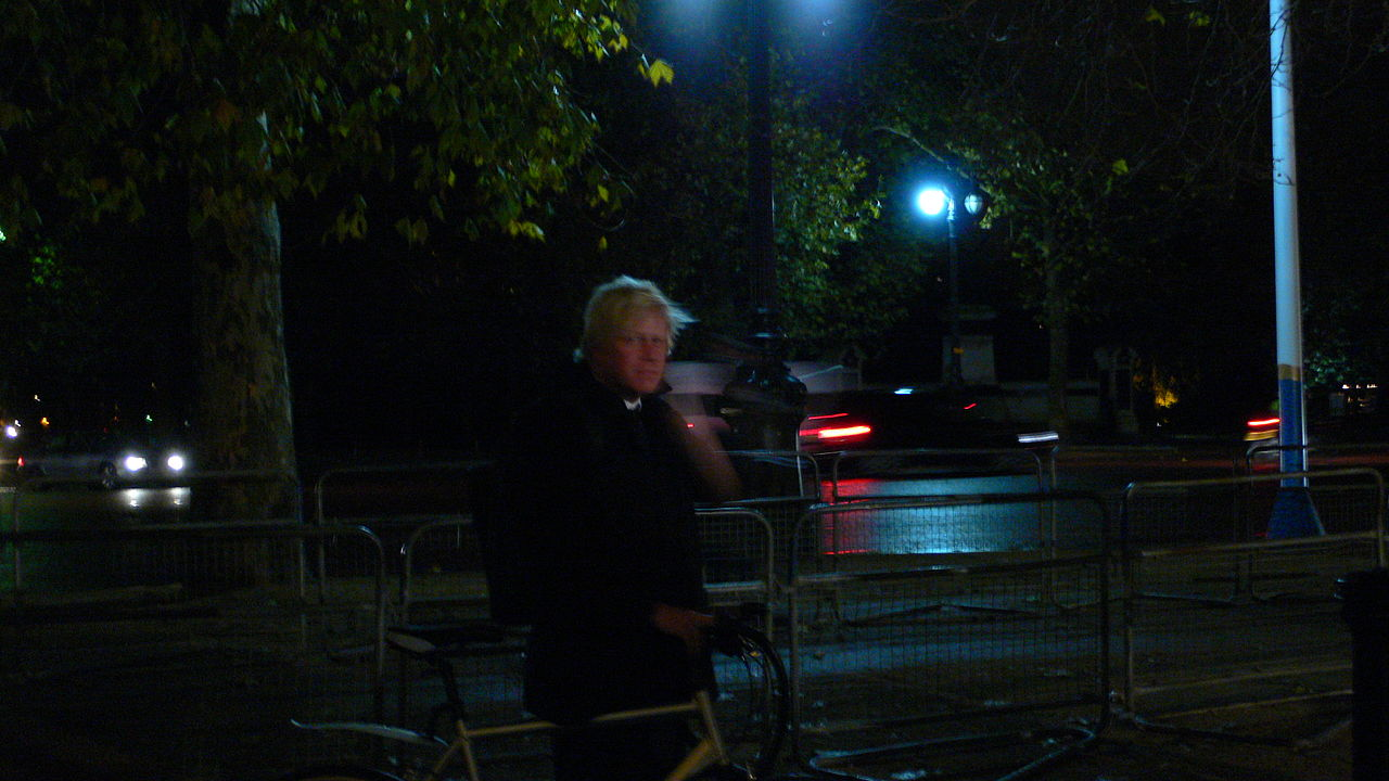 Boris Johnson, photo Justinc