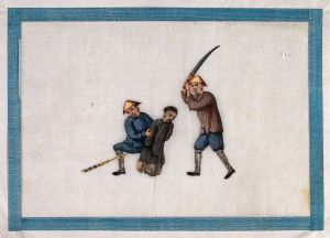 Execution of a Chinese Prisoner by Beheading/wikimedia.commons