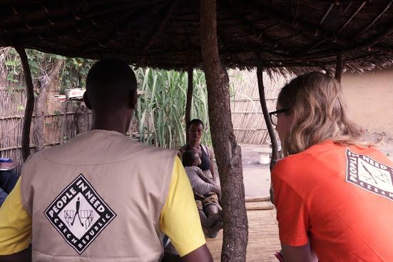 Člověk v tísni nově pracuje v Zambii, kde poskytne pomoc stovkám rodin