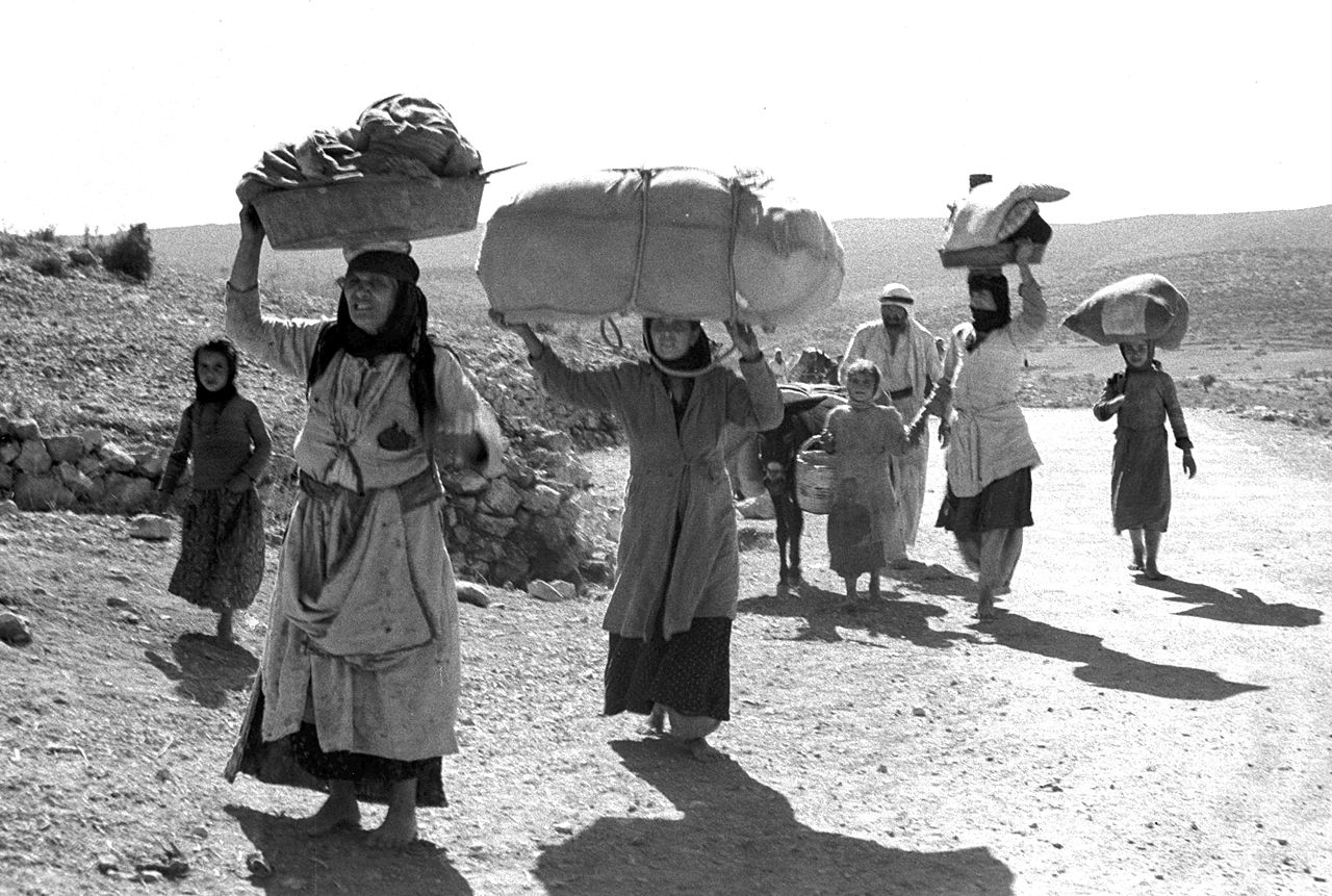 The War of Independence. Arab People Fleeing from their Galilee Villages, David Eldan, GovernmentPress Office (GPO)