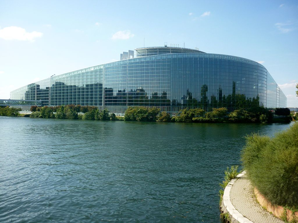 European Parliament, Strasbourg, by Christoph Radtke