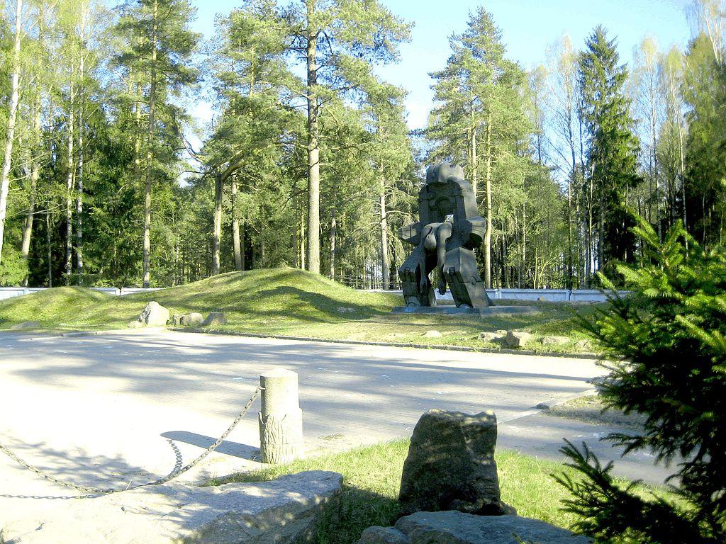 Левашово, Памятник Молох тоталитаризма, GAlexandrova