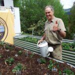 farmer herb garden organic producr farm
