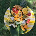 Freemans Organic Farm ladies day platter